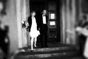Hochzeit mit Bauch