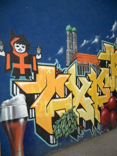 Muenchen Graffiti
