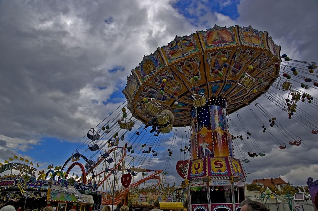 Oktoberfest-Karussell
