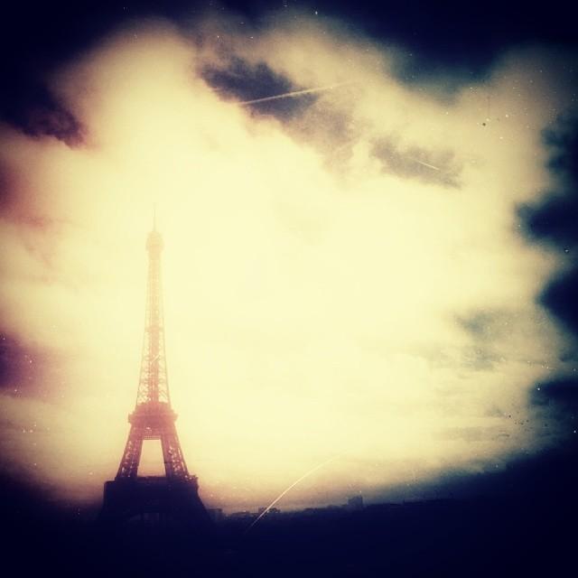 Der Eifelturm in Paris