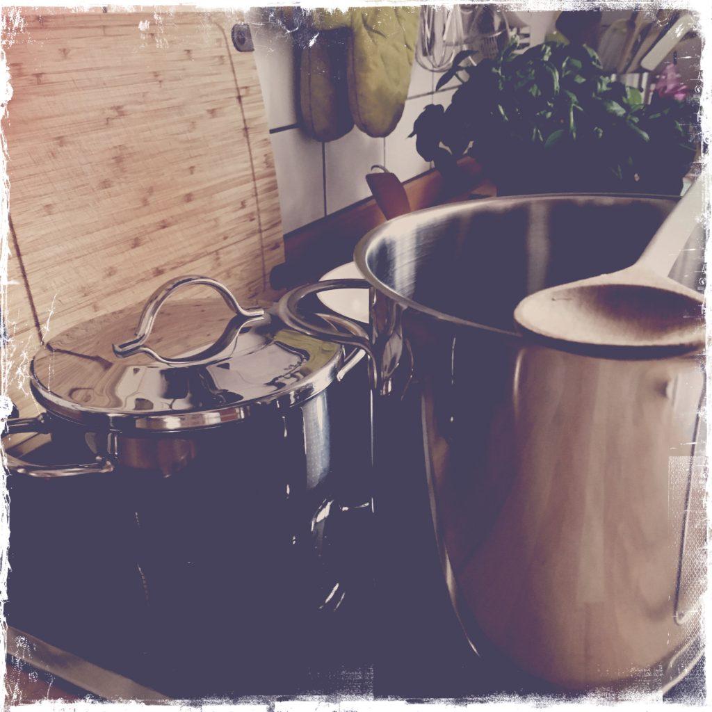 Abwarten, kochen und Tee trinken