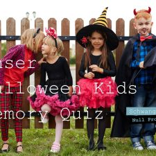 Unser Halloween-Kids-Memory