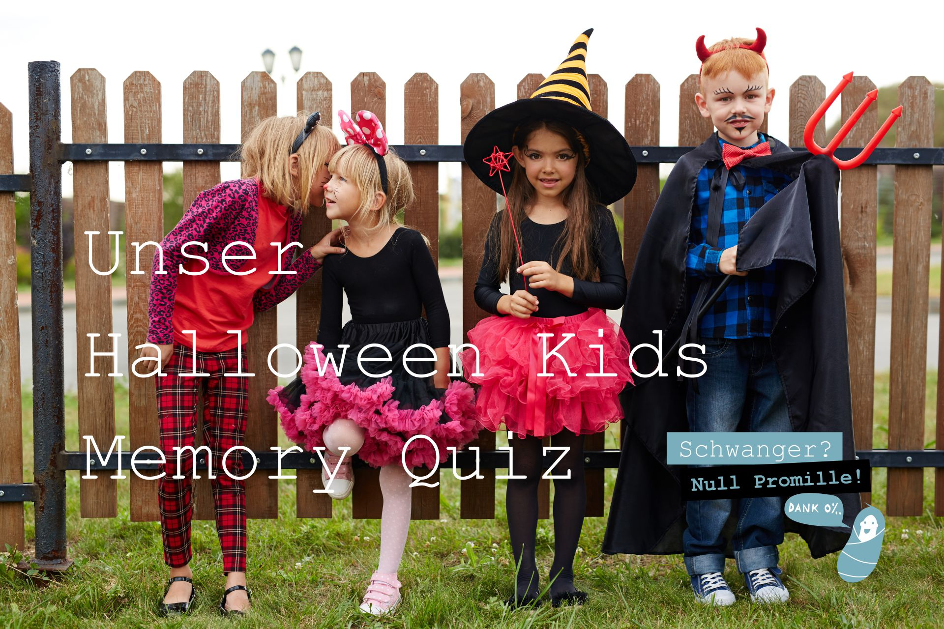 Schwanger-Null-Promille-Halloween-Kids-Memory-Quiz-Spiel