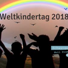 Kinder brauchen Freiräume - Weltkindertag 2018