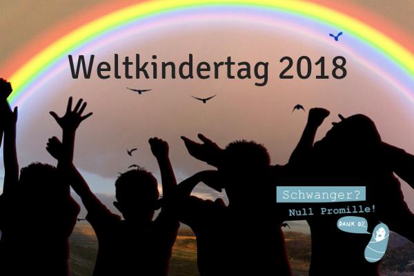 Weltkindertag 2018 - Kinder brauchen Freiräume