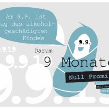 Tag des alkoholgeschädigten Kindes am 9.9.19
