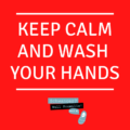 Coronavirus - Ruhe bewahren und Hände waschen