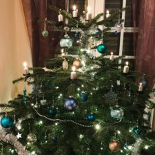 Erstes Weihnachten zu dritt